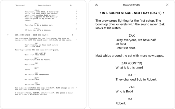 Scriptation   Annotate PDF Scripts for Film, TV, Video